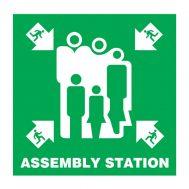 Imo Symbol Assembly Station IMPA Code 33.4119 & 33.4124