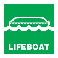 Imo Symbol Lifeboat IMPA Code 33.4100 & 33.4123