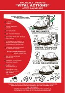 Poster IMPA Code 1503 Inflatable Liferafts Vital Actions