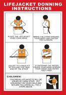 Poster Lifejacket IMPA Code 33.1577